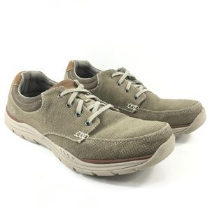 Skechers Relaxed Fit Memory Foam Shoes Mens 13 M